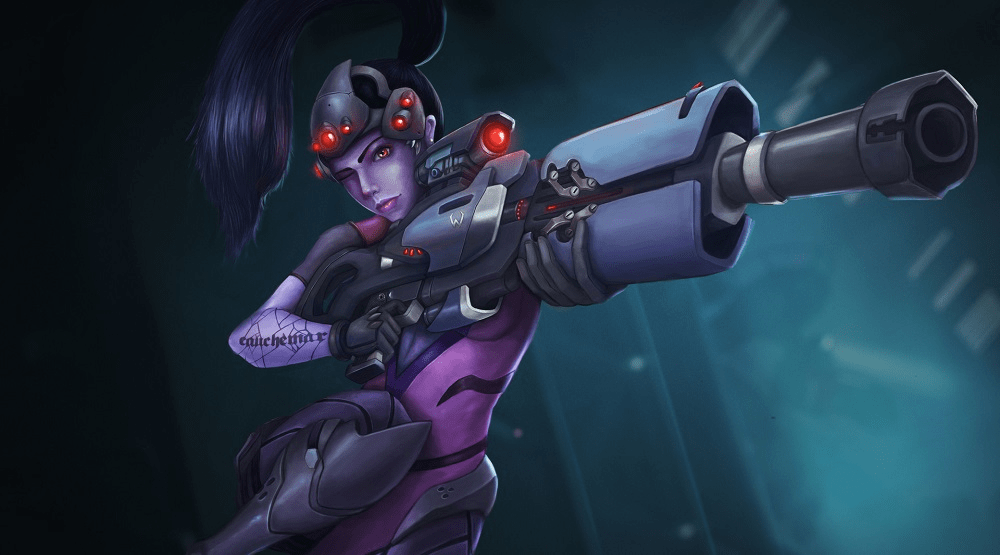 Overwatch - Why Is Widowmaker Purple?