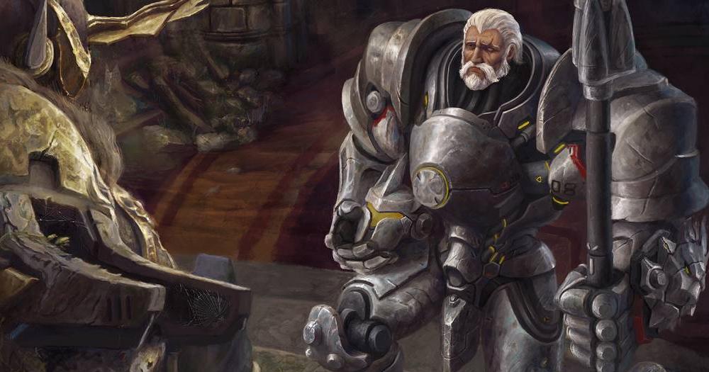 Rollen Mit Unterstützung Helden in Spielen Wachen