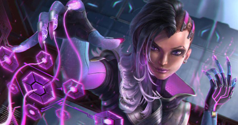 Tracer: le premier personnage créé pour Overwatch